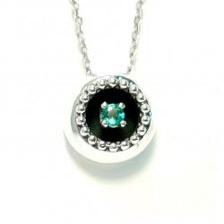 Necklace ,Emerald  BUBBLES