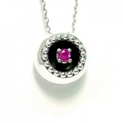 Necklace ,Ruby  BUBBLES
