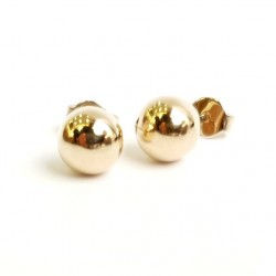 Златни обеци ,сфери
