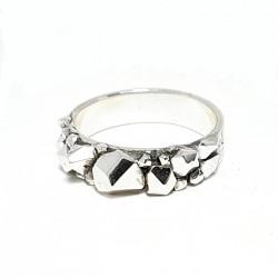 Сребърен пръстен с...