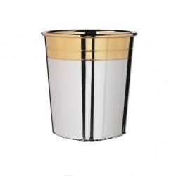 Сребърна чаша с позлата