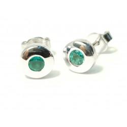 Earrings  Basel ,Emerald