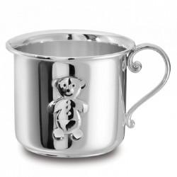 Сребърна детска чаша