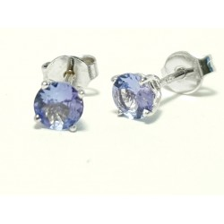 Earrings , Tanzanite