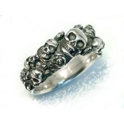 Ring , Skulls Garden
